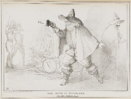 The Fifth of November or the Gun Powder Plot, by John ('HB') Doyle, printed by  Alfred Ducôte, published by  Thomas McLean - NPG D41164