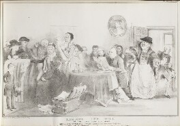 Reading the Will of the Late John Bull, Gent, by John ('HB') Doyle, printed by  Alfred Ducôte, published by  Thomas McLean, published 1 February 1833 - NPG D41175 - © National Portrait Gallery, London