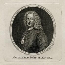 Archibald Campbell, 3rd Duke of Argyll, by Thomas Chambers (Chambars), after  Allan Ramsay - NPG D42231