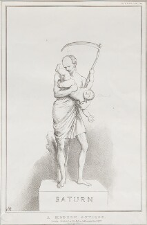 A Modern Antique (Charles Grey, 2nd Earl Grey; Daniel O'Connell), by John ('HB') Doyle, printed by  Alfred Ducôte, published by  Thomas McLean - NPG D41180