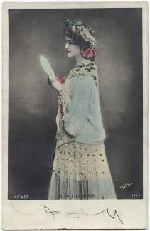 Lily Elsie (Mrs Bullough) as Soo Soo in 'A Chinese Honeymoon', published by Johnston & Hoffmann - NPG x135283