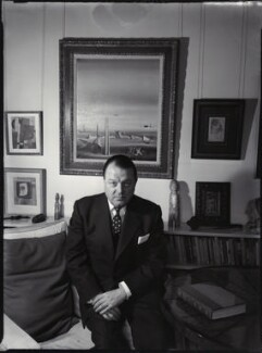Edouard Léon Théodore Mesens, by Ida Kar - NPG x135290