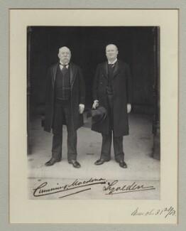John Cumming Macdona; Courtenay Robert Percy Vernon, 3rd Baron Lyveden, by Benjamin Stone - NPG x135311