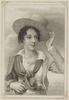 Madame Vestris as Paul in 'Paul and Virginia', by Thomas Woolnoth, published by  George Virtue, after  Thomas Charles Wageman - NPG D38622