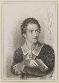 Edmund Kean as Hamlet, by R. Page, published by  T & I Elvey, after  Thomas Charles Wageman - NPG D38624