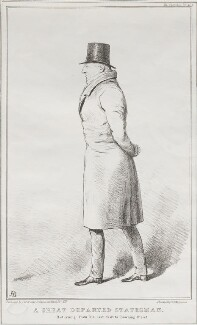 Carlo Andrea, Count Pozzo di Borgo ('A Great Departed Diplomat'), by John ('HB') Doyle, printed by  Alfred Ducôte, published by  Thomas McLean - NPG D41186
