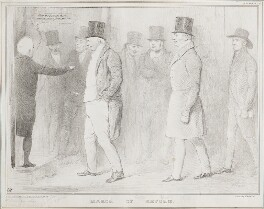 March of Reform, by John ('HB') Doyle, printed by  Alfred Ducôte, published by  Thomas McLean - NPG D41187