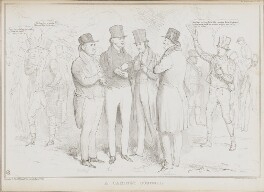 A Cabinet Council, by John ('HB') Doyle, printed by  Alfred Ducôte, published by  Thomas McLean - NPG D41199