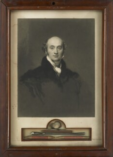 Sir Thomas Lawrence, by Samuel Cousins, published by  Walter Benjamin Tiffin, published by  Rittner and Co, after  Sir Thomas Lawrence - NPG 1634b