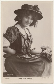 Julia James, by Rita Martin, published by  J. Beagles & Co - NPG x131543