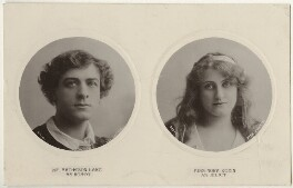 (Alexander) Matheson Lang as Romeo and Nora Kerin as Juliet, by Rita Martin, 1908 - NPG  - © National Portrait Gallery, London