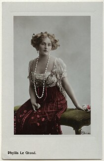 Phyllis Le Grand, by Rita Martin, published by  Aristophot Co Ltd - NPG x131548