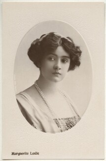 Marguerite Leslie, by Rita Martin, published by  Aristophot Co Ltd - NPG x131556