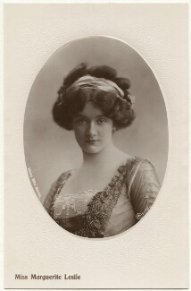 Marguerite Leslie, by Rita Martin, published by  Aristophot Co Ltd - NPG x131553