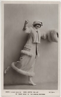 Gertie Millar as Nancy Joyce in 'The Dancing Mistress', by Rita Martin, published by  Rotary Photographic Co Ltd - NPG x131569