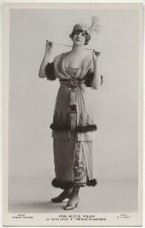 Gertie Millar as Nancy Joyce in 'The Dancing Mistress', by Rita Martin, published by  J. Beagles & Co - NPG x131565