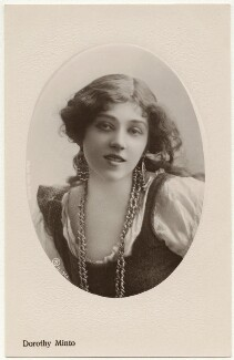 Dorothy Minto as Flora in 'The Duke's Motto', by Rita Martin, published by  Aristophot Co Ltd - NPG x131578