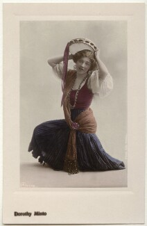 Dorothy Minto as Flora in 'The Duke's Motto', by Rita Martin, published by  Aristophot Co Ltd - NPG x131577