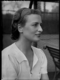 Phyllis C. Grover, by Bassano Ltd - NPG x156222