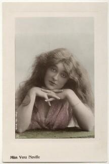 Vera Neville, by Rita Martin, published by  Aristophot Co Ltd - NPG x131579