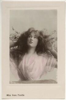 Vera Neville, by Rita Martin, published by  Aristophot Co Ltd - NPG x131580