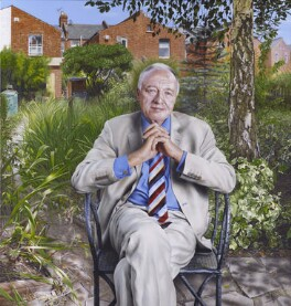 Ken Livingstone, by Andrew Tift, 2014 - NPG  - © National Portrait Gallery, London