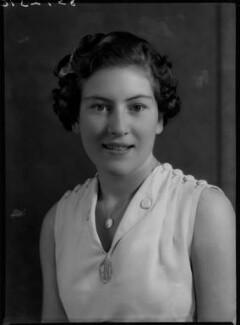 Jean Nicoll (Mrs Bostock), by Bassano Ltd - NPG x156230