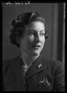 Jean Nicoll (Mrs Bostock), by Bassano Ltd - NPG x156232