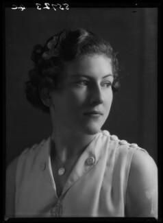 Jean Nicoll (Mrs Bostock), by Bassano Ltd - NPG x156233