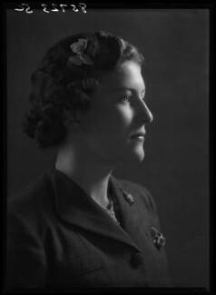 Jean Nicoll (Mrs Bostock), by Bassano Ltd - NPG x156234