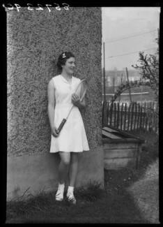 Jean Nicoll (Mrs Bostock), by Bassano Ltd - NPG x156237