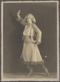 'Russian Dancer', by Howard Instead - NPG Ax135339