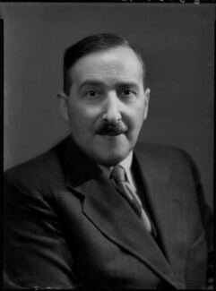 Stefan Zweig, by Bassano Ltd - NPG x156327