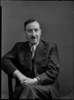 Stefan Zweig, by Bassano Ltd - NPG x156330