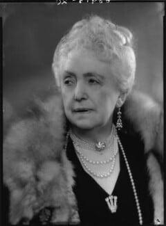 Mabell Frances Elizabeth (née Gore), Countess of Airlie, by Bassano Ltd, 5 June 1939 - NPG x156374 - © National Portrait Gallery, London
