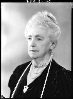 Mabell Frances Elizabeth (née Gore), Countess of Airlie, by Bassano Ltd, 5 June 1939 - NPG x156375 - © National Portrait Gallery, London