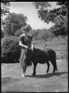 Alice Caroline Helen (née Buchan), Lady Fairfax-Lucy, by Bassano Ltd - NPG x156394