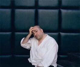 Omid Djalili, by Karen Robinson, 13 May 2004 - NPG  - © Karen Robinson