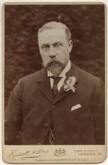 James William Lowther, 1st Viscount Ullswater, by James Russell & Sons, circa 1910 - NPG x135366 - © National Portrait Gallery, London