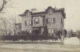 Wister-Brown House, East Side of Germantown Avenue in Philadelphia, by Unknown photographer - NPG Ax160603