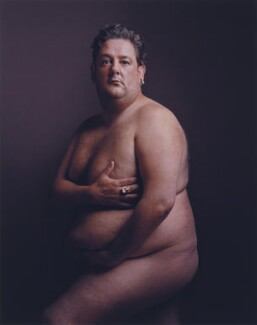 Johnny Vegas as Demi Moore, by Karl J. Kaul, 2006 - NPG x135373 - © Karl J. Kaul
