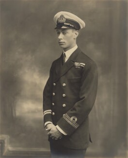 King George VI, by H.R. Wicks, for  Bassano Ltd - NPG x135383