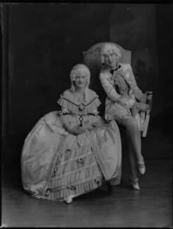 Lady Anne Maud Rhys (née Wellesley); (Lilian) Maud Glen (née Coats), Duchess of Wellington, by Lafayette - NPG x69950