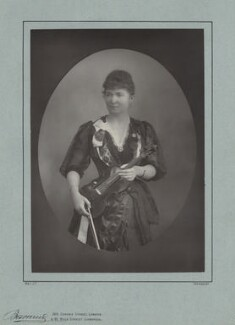 Wilma Norman-Neruda, by Herbert Rose Barraud, published by  Eglington & Co - NPG x17310