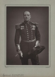 Charles William de la Poer Beresford, Baron Beresford, by Herbert Rose Barraud, published by  Eglington & Co - NPG x5166