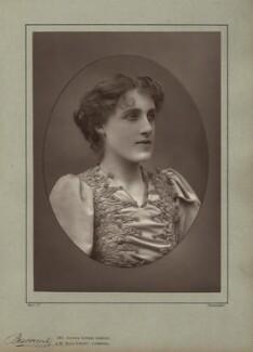 Julia Emilie Neilson, by Herbert Rose Barraud, published by  Eglington & Co - NPG x21481