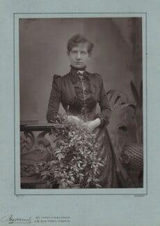 Alice Ann Cornwell (later Mrs Stannard Robinson), by Herbert Rose Barraud, published by  Eglington & Co - NPG x6896