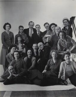 The staff of Bassano Ltd, by Bassano Ltd, 22 December 1950 - NPG  - © National Portrait Gallery, London