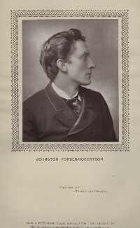 Sir Johnston Forbes-Robertson, by St James's Photographic Co - NPG x135388
