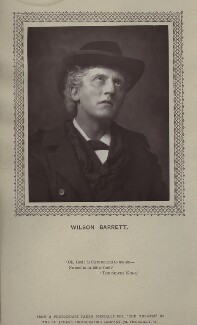 Wilson Barrett (William Henry Barrett), by St James's Photographic Co - NPG x135389